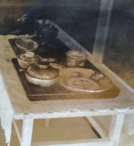 天皇陛下のお食事に使用された食器