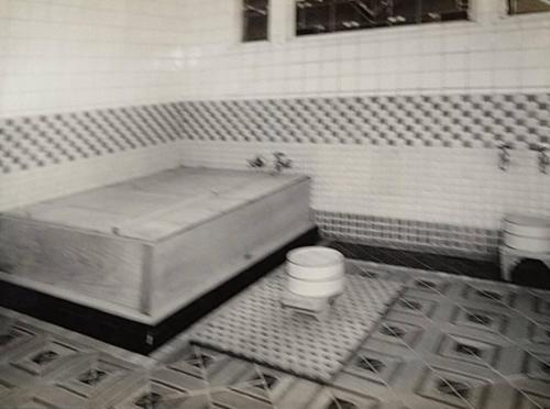天皇陛下がお入りになった浴室